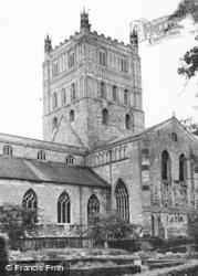Tewkesbury, Abbey, South West c.1955