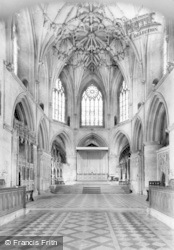 Tewkesbury, Abbey, The Altar c.1955