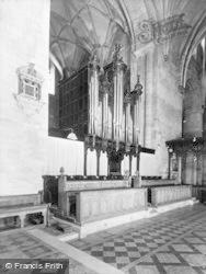 Tewkesbury, Abbey, The Organ c.1955