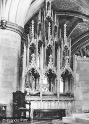 Tewkesbury, Abbey, Tomb Of Hugh Le Despenser (Died 1349) c.1955