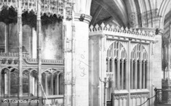 Tewkesbury, Abbey, Tombs In Choir c.1869