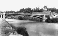 Tewkesbury, Bridge On The Severn 1899