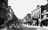 Tewkesbury, Church Street 1907