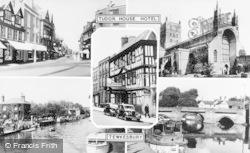 Tewkesbury, Composite c.1960
