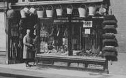 Tewkesbury, Hardware Shop, High Street 1923