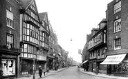 Tewkesbury, High Street 1923