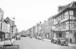 Tewkesbury, High Street c.1955