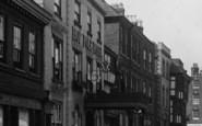 Tewkesbury, Hop Pole Hotel, Church Street 1923