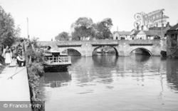 Tewkesbury, King John's Bridge c.1955
