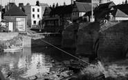 Tewkesbury, King John's Bridge c.1960