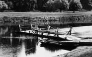 Tewkesbury, Lower Lode Ferry 1899