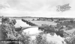 Tewkesbury, Mythe Bridge c.1955