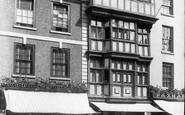 Tewkesbury, Old House In High Street 1899