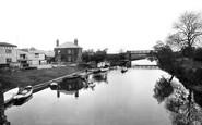 Tewkesbury, River Avon 1923