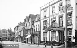 Tewkesbury, Royal Hop Pole Hotel c.1960