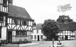 Tewkesbury, The Old Black Bear Inn c.1955