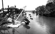 Tewkesbury, The River Avon c.1960