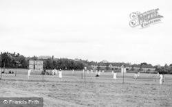 Tewkesbury, The Sports Ground c.1955