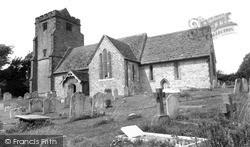 Thakeham, St Mary's Church c.1960