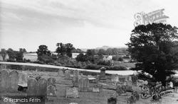 Thakeham, The Downs From The Church c.1960
