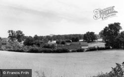 Thakeham, View Of The Downs c.1960