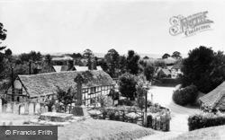 Thakeham, Village From The Church c.1960