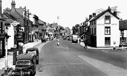 Thame, Cornmarket 1951