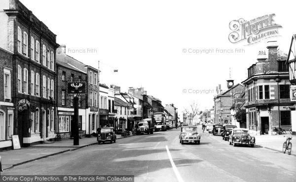 Thame, Cornmarket c1960