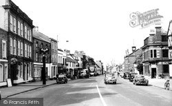 Thame, Cornmarket c.1960