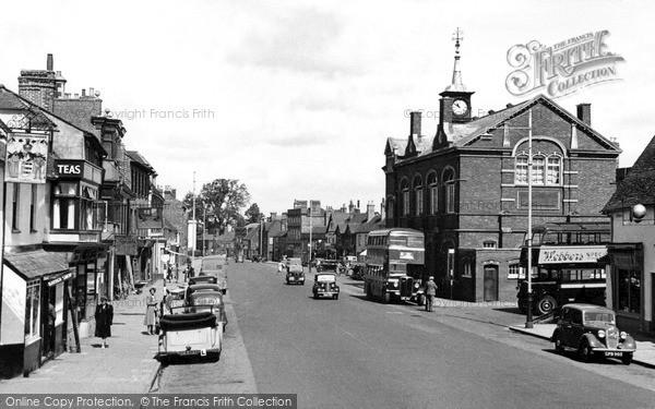 Thame, High Street c1955