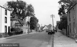 Thame, Lower High Street c.1950