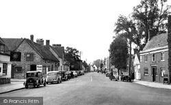 Thame, Lower High Street c.1955