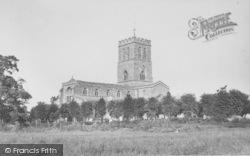 Thame, St Mary's Church c.1950