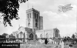 Thame, St Mary's Church c.1955
