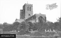 Thame, St Mary's Church c.1960