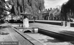 Thame, The Pearce Memorial c.1950