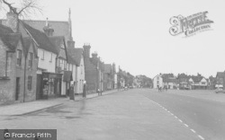 Thame, Upper High Street c.1955