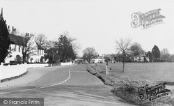 Thames Ditton, Giggs Hill Green c.1955