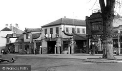 Thames Ditton, High Street c.1955