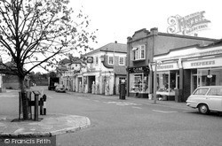 Thames Ditton, High Street c.1967