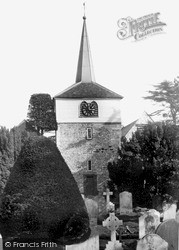 Thames Ditton, St Nicholas' Church c.1955