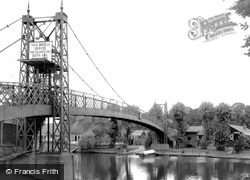 Thames Ditton, The Bridge c.1960