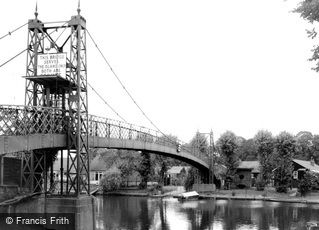 Thames Ditton, the Bridge c1960