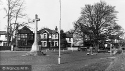 Thames Ditton, The Memorial c.1955