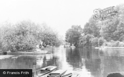 Thames Ditton, The River c.1960