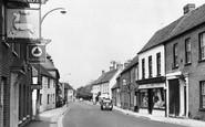 Thatcham, High Street c1955