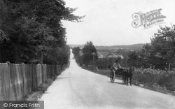 Frensham Road From Gong Hill 1909, The Bourne