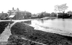 The Bourne, From Old Frensham Road 1909