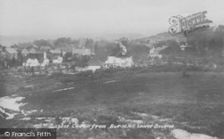 The Bourne, Gold Hill From Burnt Hill 1914