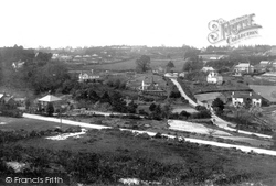 The Bourne, Middle Bourne From Burnt Hill 1909